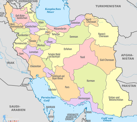 Iran Provinces Complete List Of Provinces Of Iran And Its Cities Of Iran