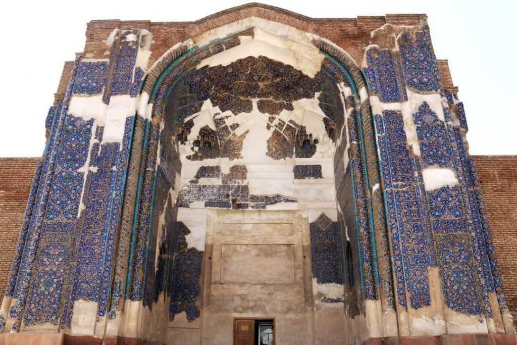nsicht der Blaue Moschee Tabriz