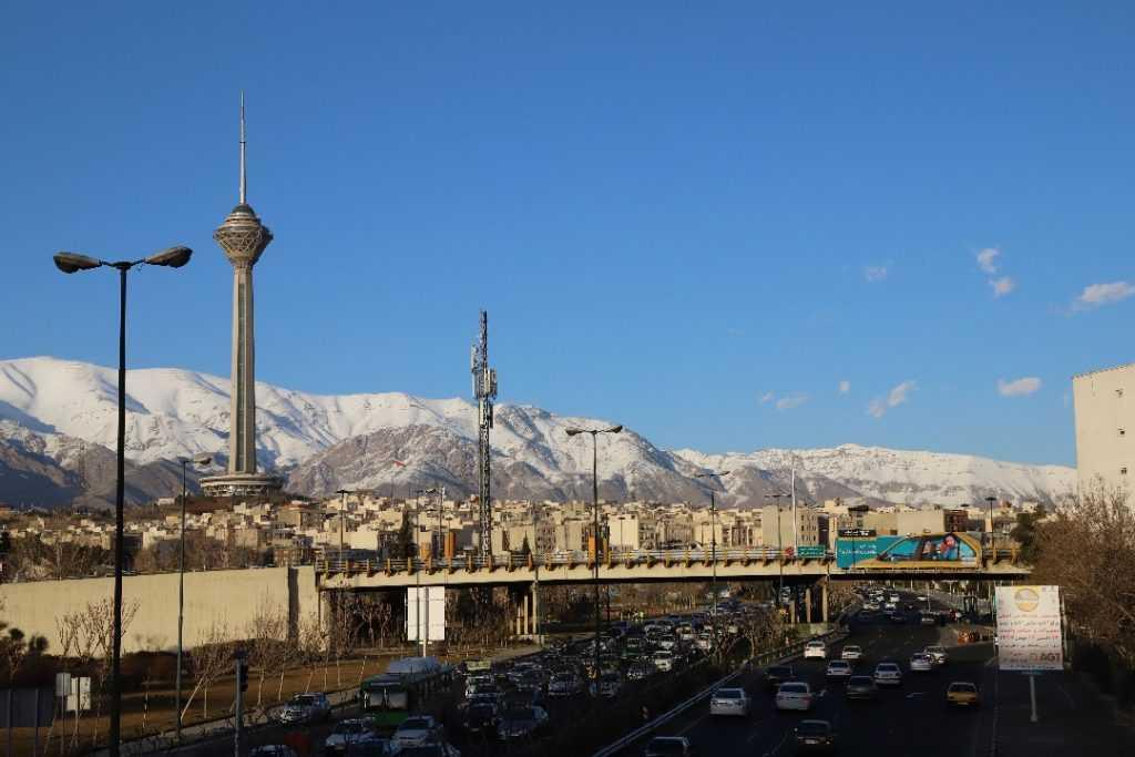 Milad Turm Teheran