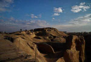 Die Übersicht über Sialk Hill Kashan