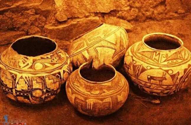 Ursprüngliche Entdeckungen auf dem Sialk Hill(Tappe Sialk) of Kashan