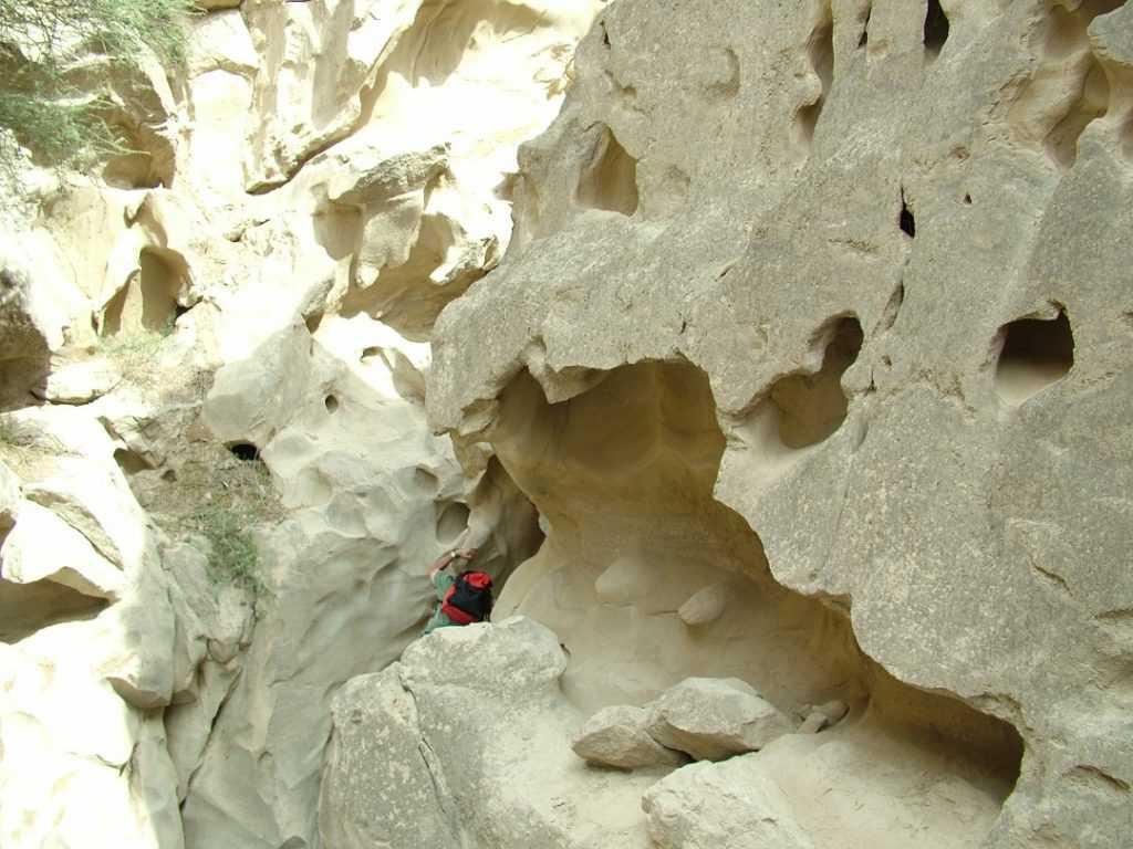 Chahkooh tal Qeshm(Qeshm Chahkooh Canyon)