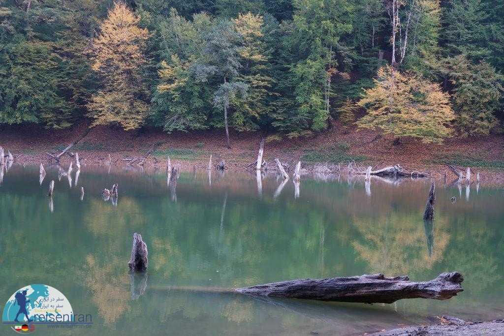 دریاچه چورت پاییزی