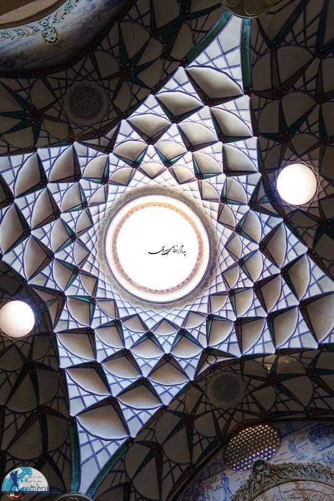 سقف زیبای خانه بروجردی