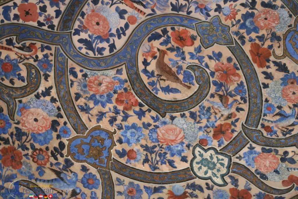 نقاشی دیواری باغ فین کاشان