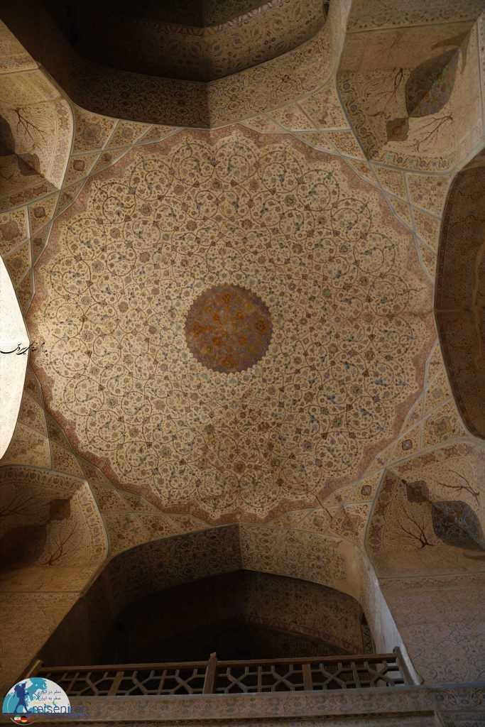 تزئینات داخلی عماری عالیقاپو اصفهان
