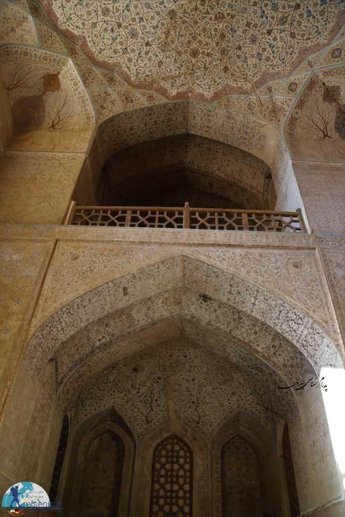 زیبایی های کاخ عالی قاپو اصفهان