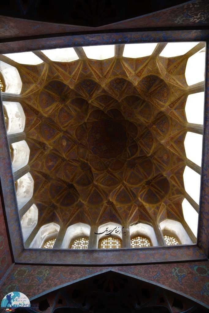 سالن موسیقی کاخ عالی قاپو اصفهان