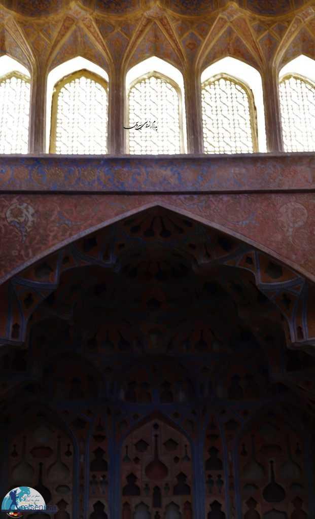 عکس تالار موسیقی عالیقاپو اصفهان