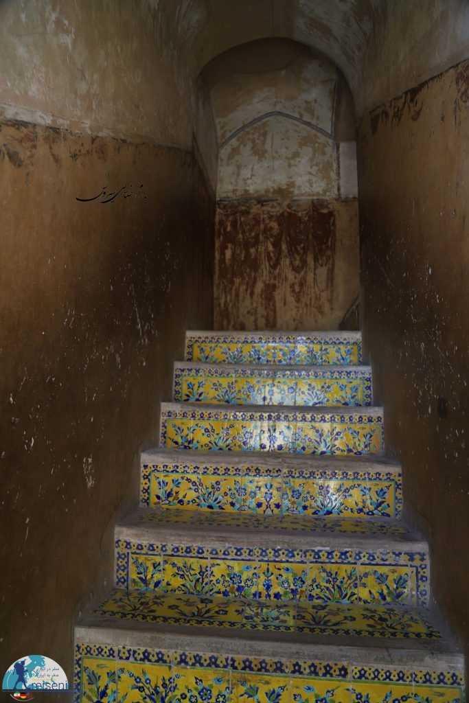 عکس راهرو طبقات عماری عالیقاپو اصفهان