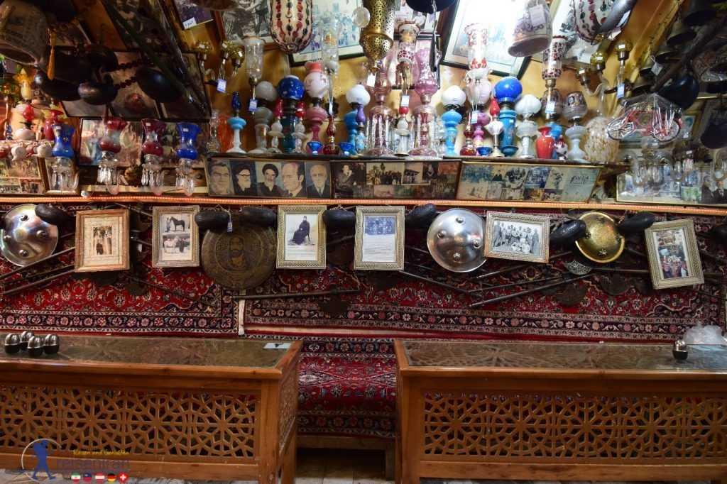 گذر تاریخ در قهوه خانه حاج میرزا