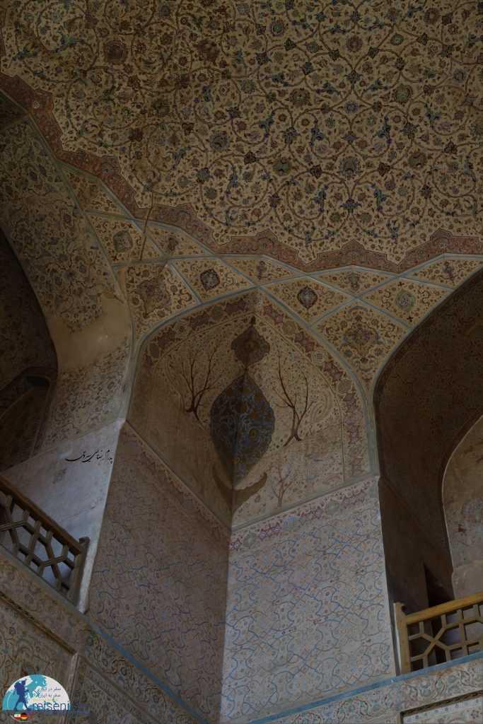 نقاشی های زیبای کاخ عالیقاپو اصفهان