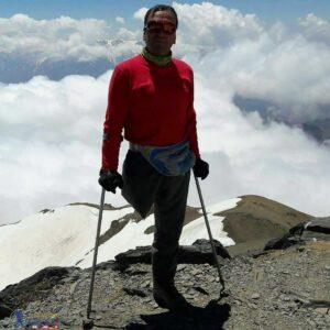 بر فراز قله سیالان