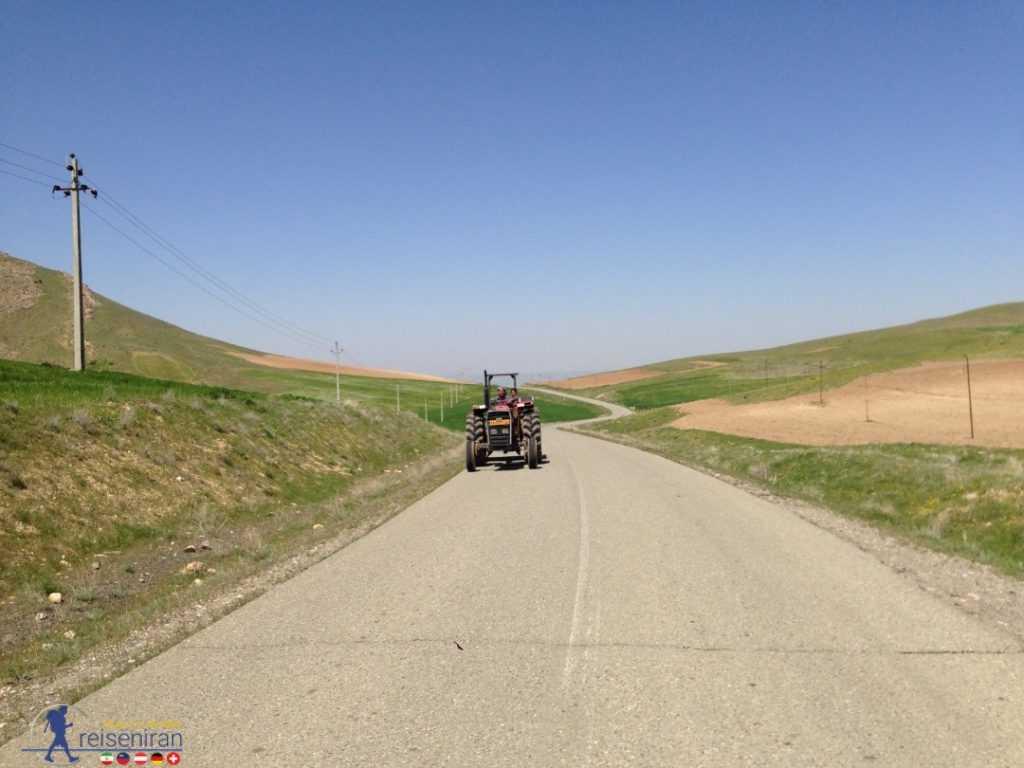 در مسیر تپه زیویه کردستان