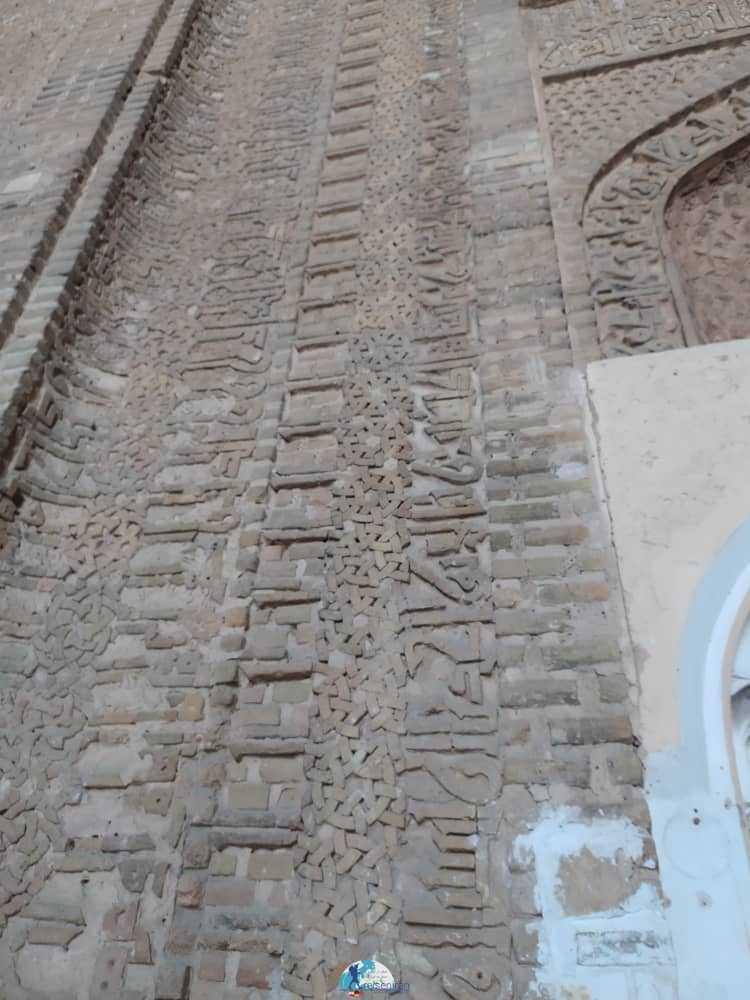 گچکاری های مسجد جامع گلپایگان