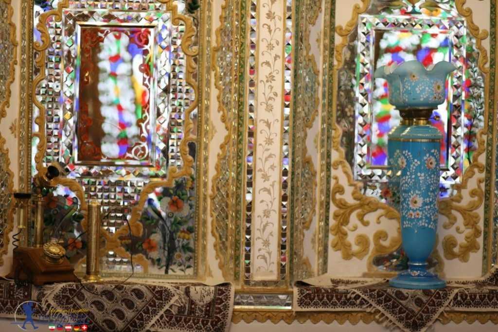 آینههای خانه ملاباشی اصفهان