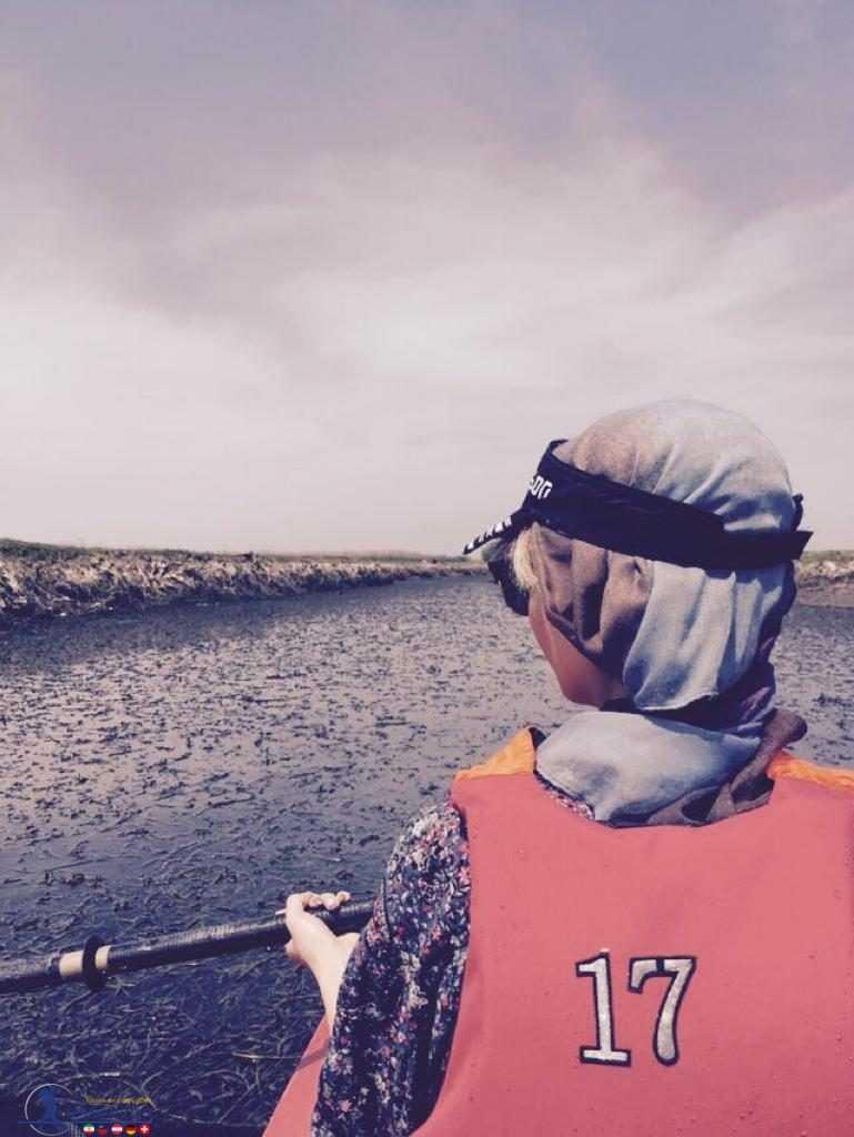تجربه کایاک سواری آوا