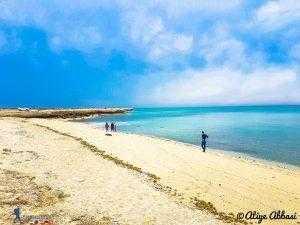 ساحل خلیج نایبند استان بوشهر