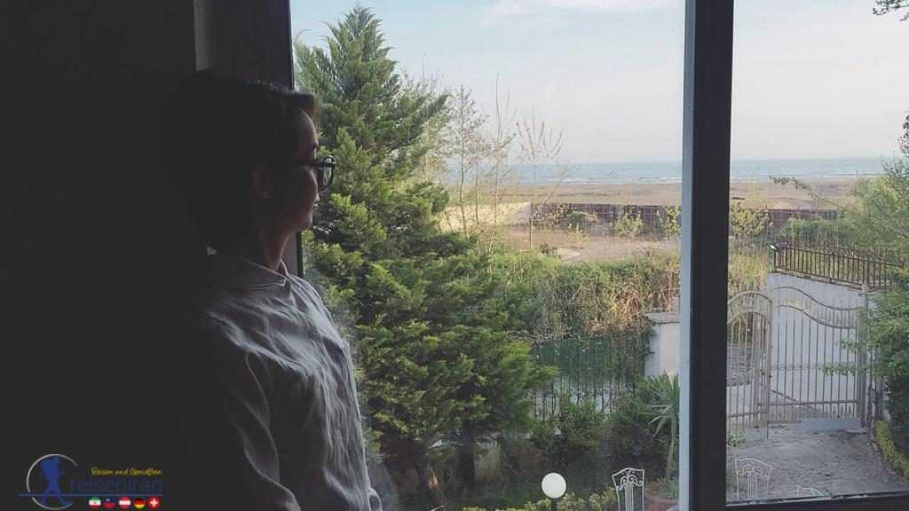 نمای رو به دریای ویلا