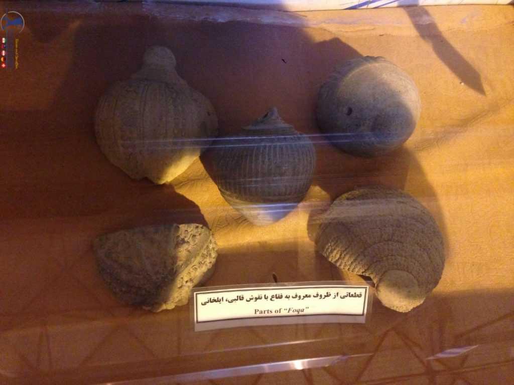 آثار موزه تخت سلیمان مربوط به دوره ایلخانی
