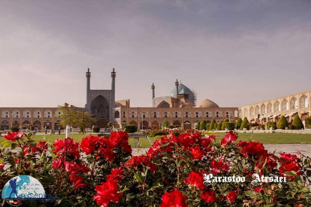 نمای مسجد شاه