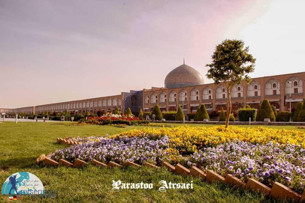 نمای مسجد شیخ لطف الله