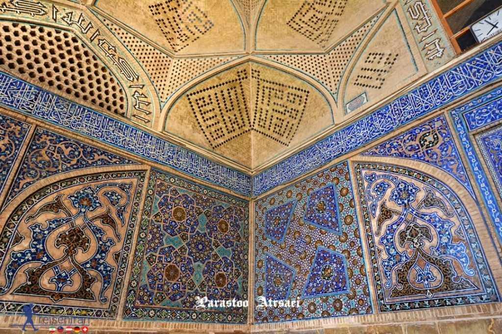 کاشی کاری مسجد جامع اصفهان