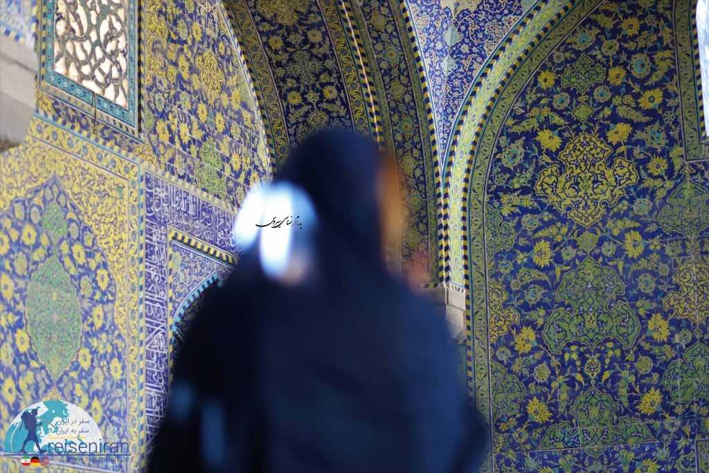 حس روحانی و عرفانی در مسجد شاه اصفهان