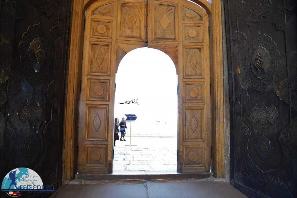 درب ورودی مسجد شاه اصفهان