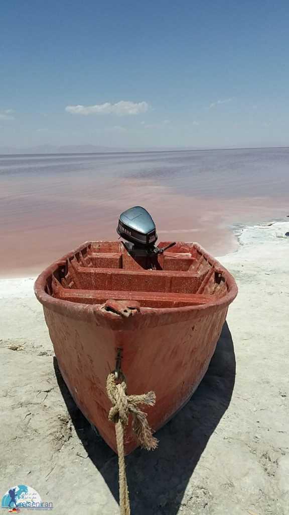 دریاچه ارومیه زیبا