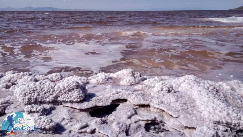 ساحل نمکی دریاچه ارومیه