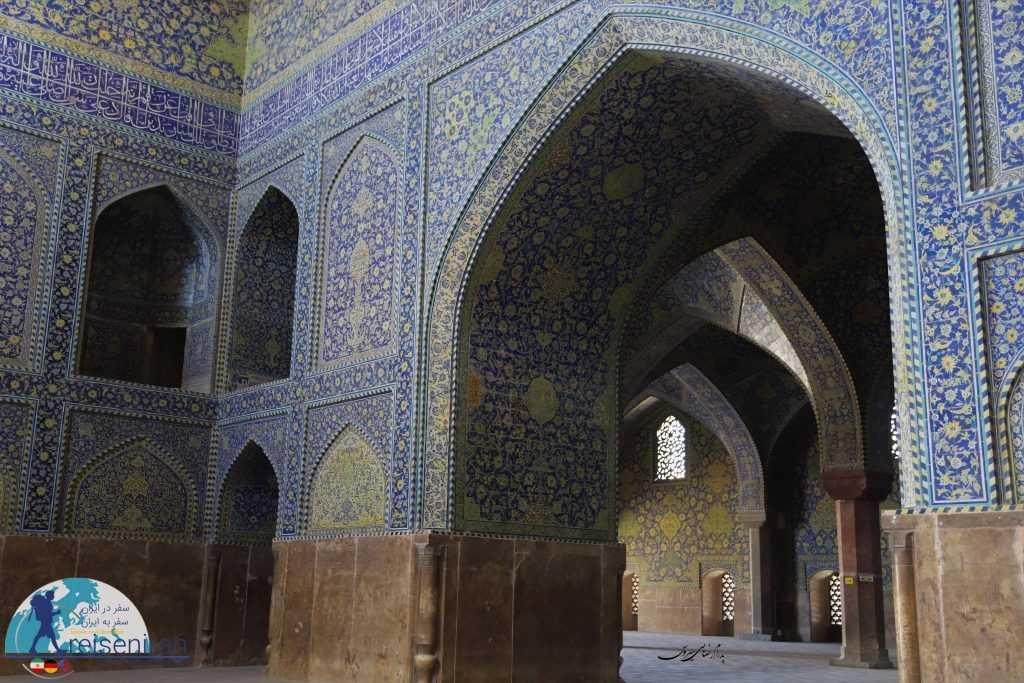 شبستان مسجد شاه اصفهان