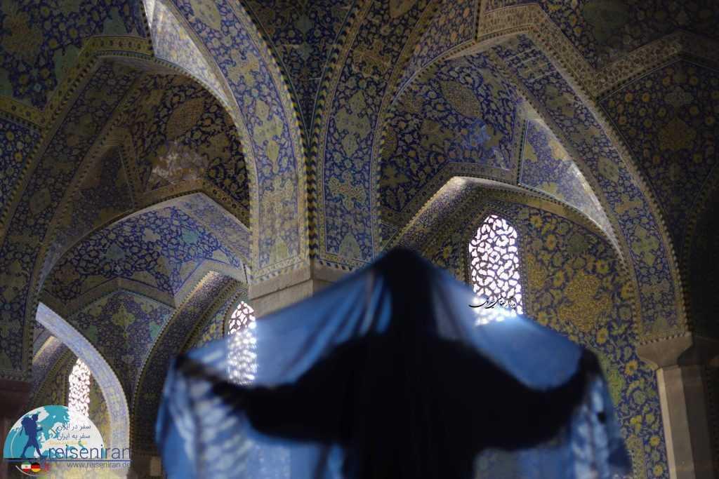 عکاسی در مسجد شاه اصفهان