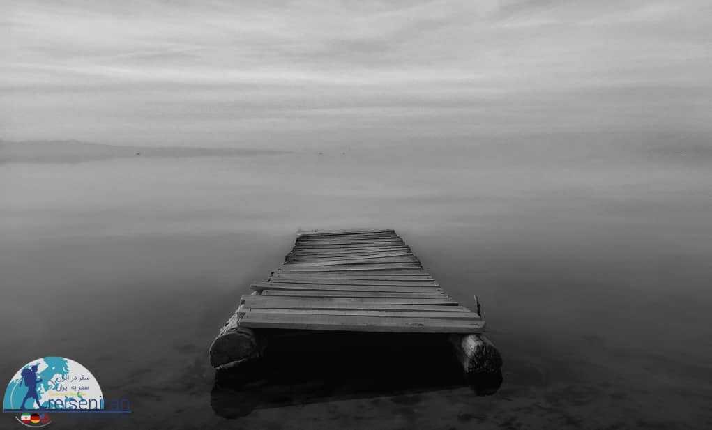 عکس رویایی دریاچه ارومیه