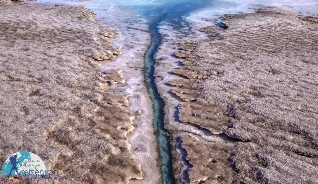 مسیل ورود به دریاچه ارومیه