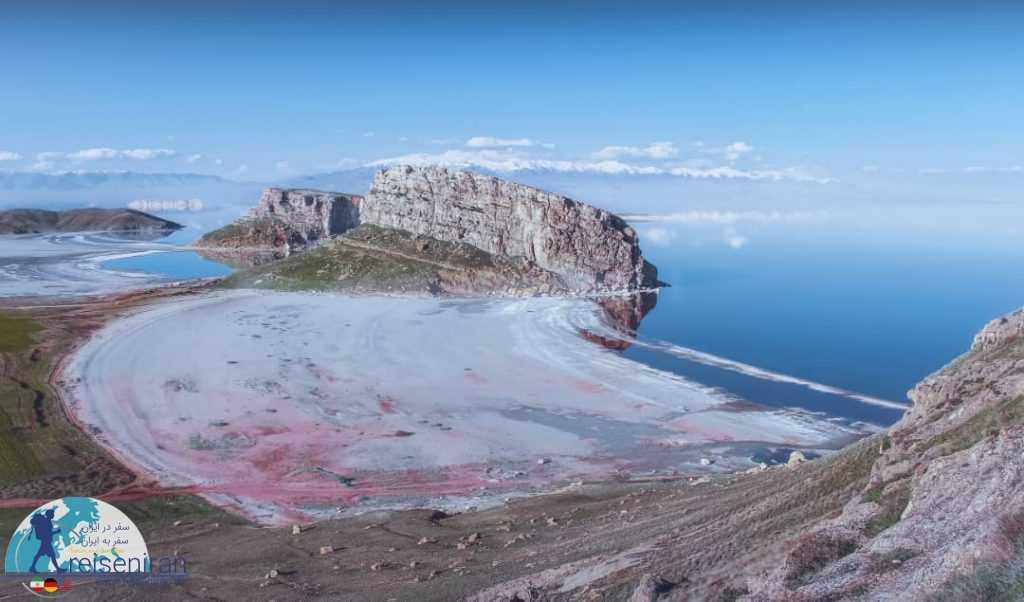 نمای دریاچه ارومیه