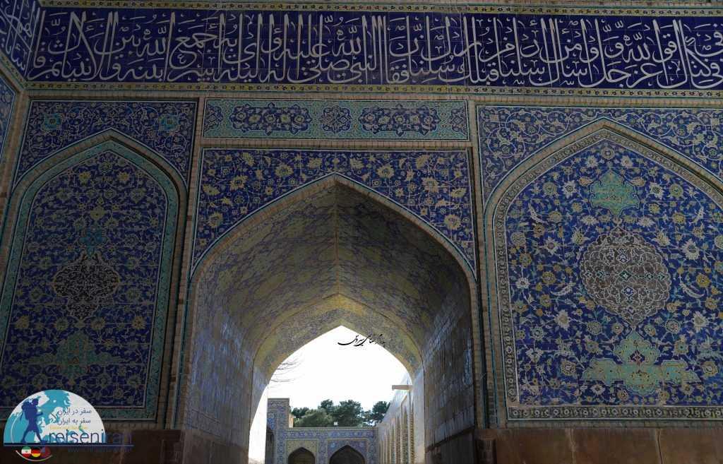 ورودیه های مختلف مسجد جامع عباسی