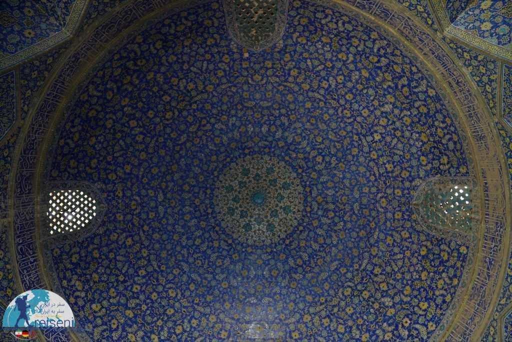 پوسته داخلی گنبد مسجد جامع عباسی اصفهان