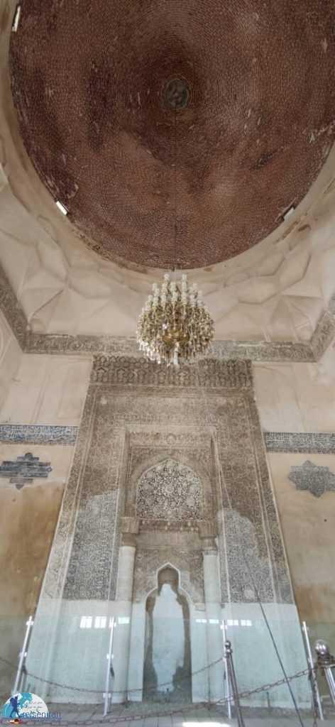 داخل گنبد مسجد جامع ارومیه