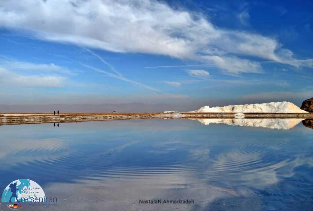 دریاچه مهارلوی آبی