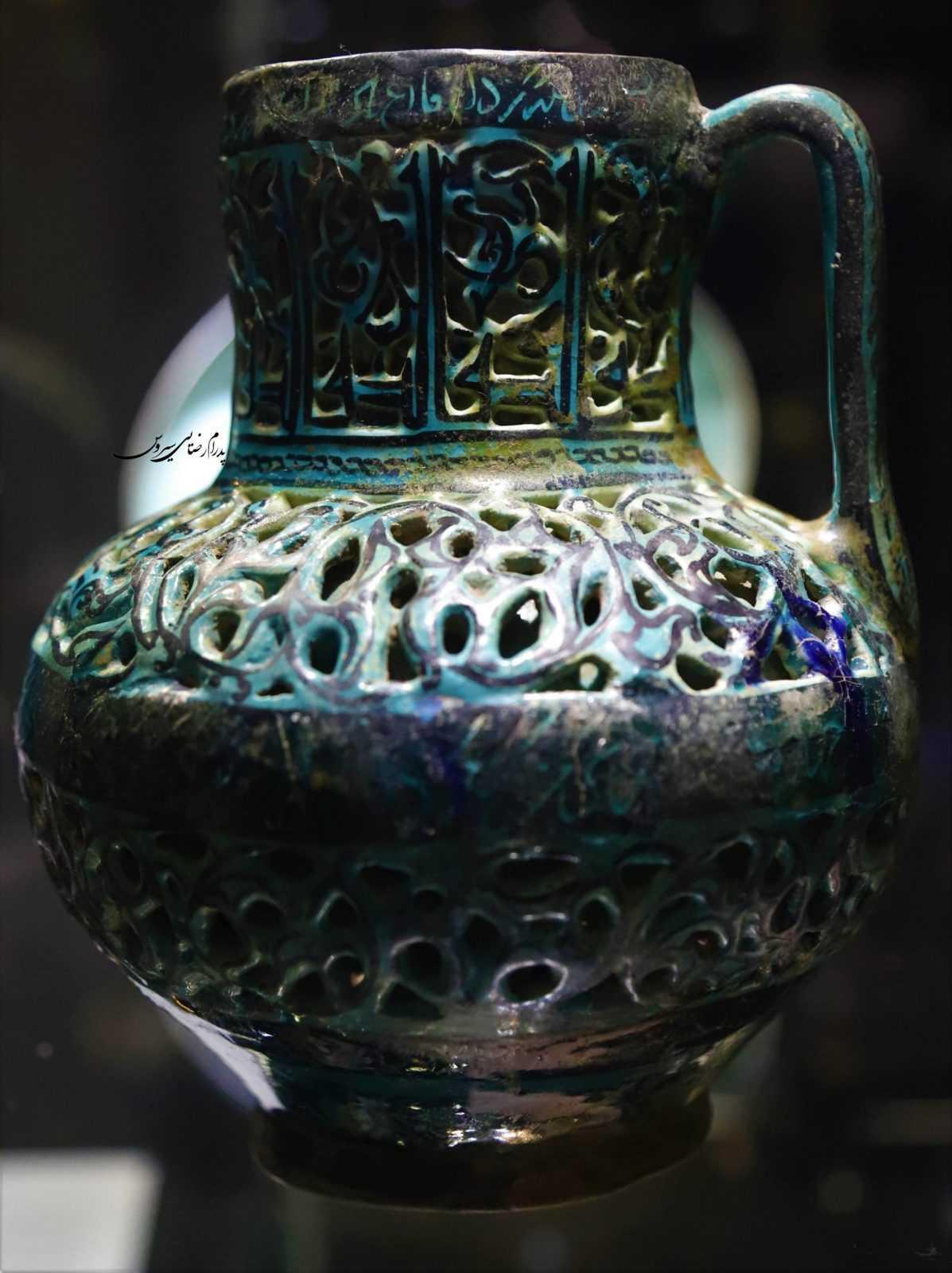 سفالینه مینایی، موزه رضا عباسی تهران
