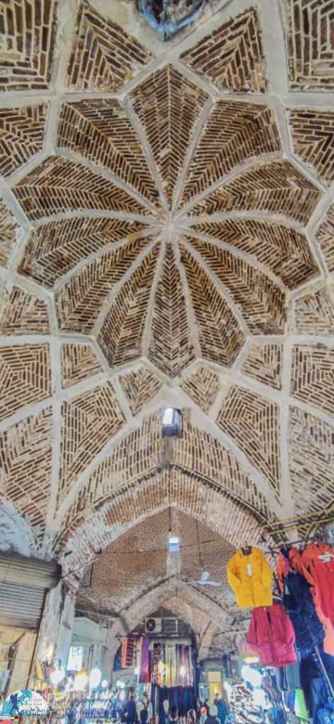 سقف بازار ارومیه