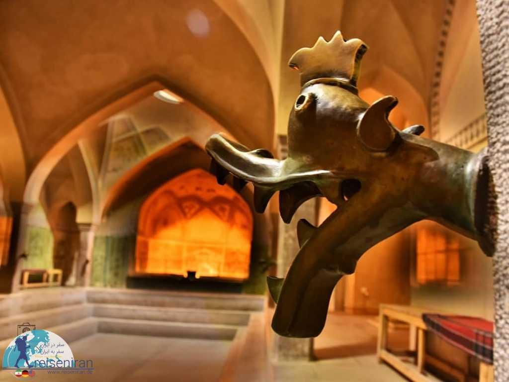 فضای حمام علی آقا اصفهان