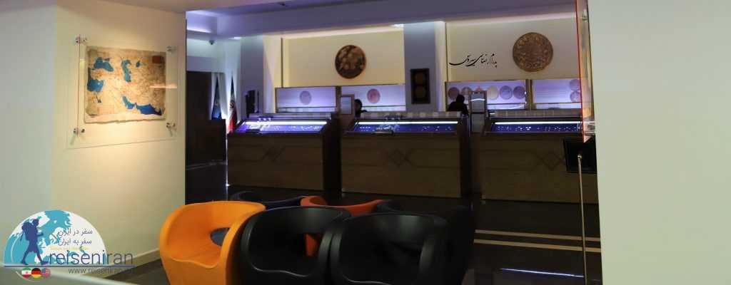 فضای موزه سکه بانک سپه
