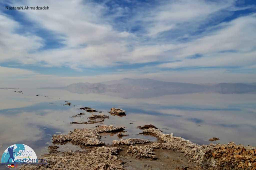 نمک های دریاچه مهارلو