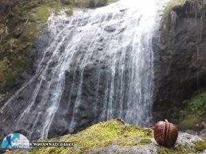آبشار سیاه تاش گیلان