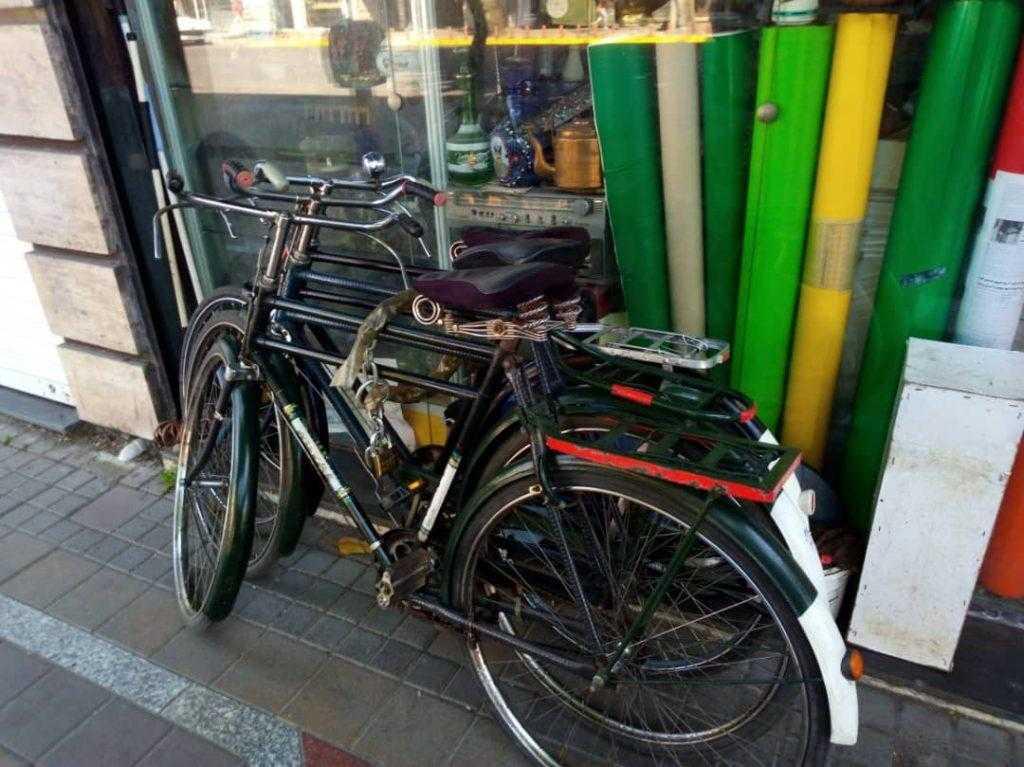 دوچرخه های قدیمی در رشت