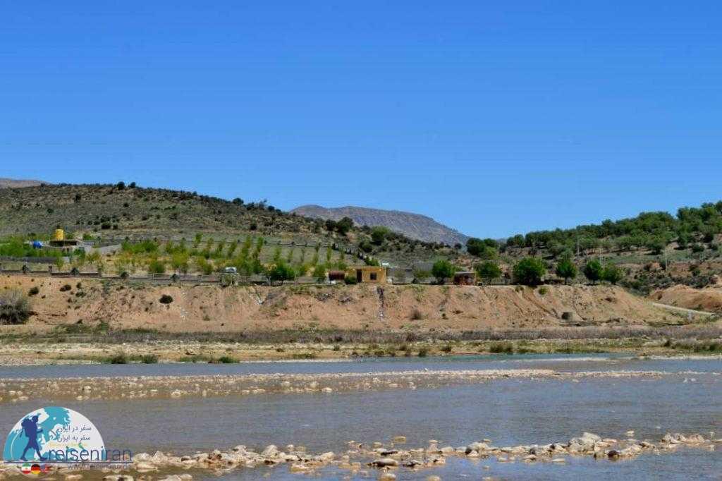 رودخانه قره آغاج شیراز