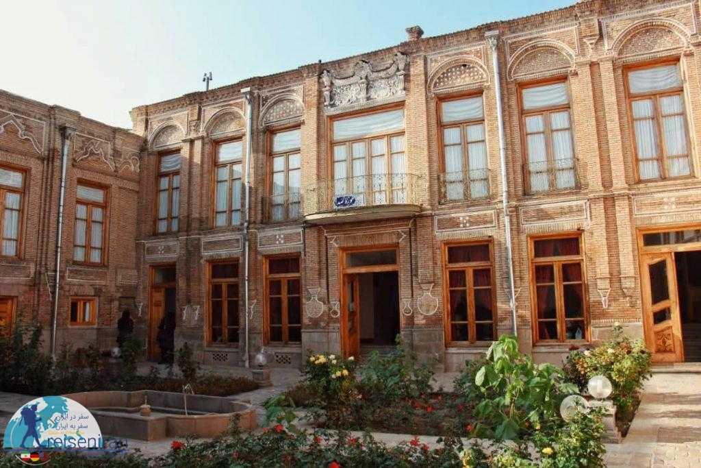 ساختمان موزه صدا و موسیقی تبریز