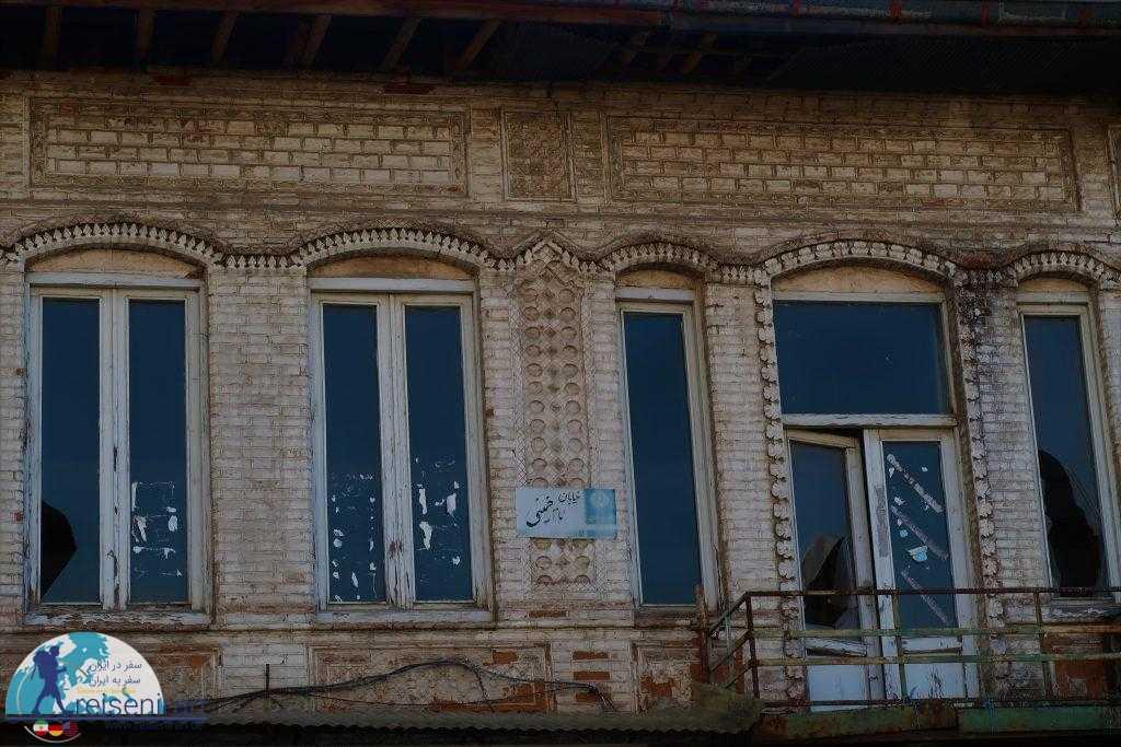 ساختمان های قدیمی اطراف میدان شهرداری